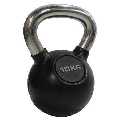 Image of Valor Fitness Chrome Kettle Bell 40lb CKB-40 - FitnessGearUSA.Com