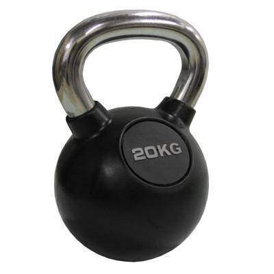 Valor Fitness Chrome Kettle Bell 53lb CKB-53 - Fitness Gear