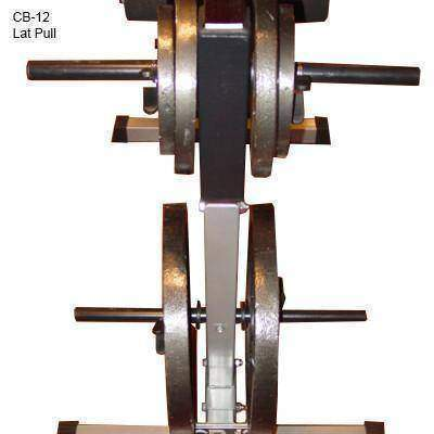 Image of Valor Fitness CB-12 Lat Pull Down/PLG/Low Row - FitnessGearUSA.Com