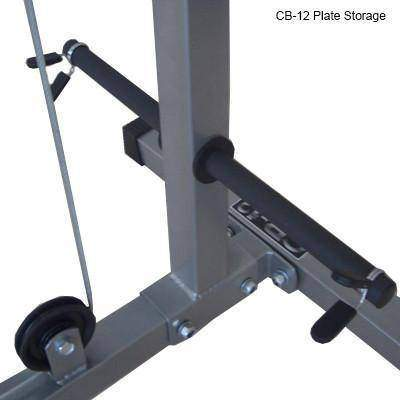 Valor Fitness CB-12 Lat Pull Down/PLG/Low Row - Fitness Gear
