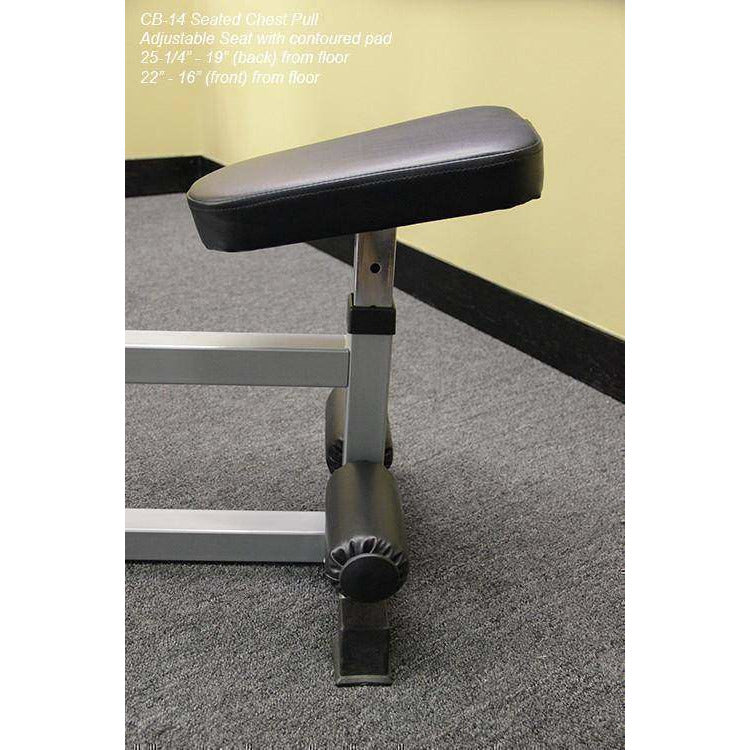 Buy Valor Fitness CB-14 Seated Row / Chest Pull with Independent Arms at  FitnessGearUSA Com for only $ 334 00