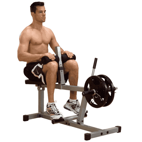 Image of Calf Seated  Raise - Fitness Gear