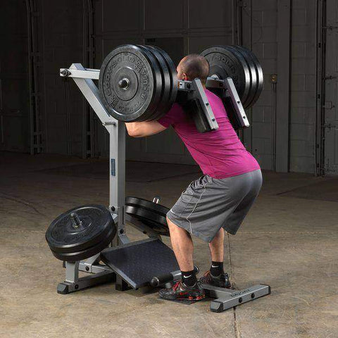 Image of Leverage Squat Calf Machine - Fitness Gear