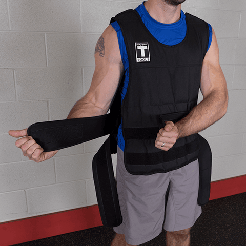Image of 20lb. Body-Solid Weighted Vest - Fitness Gear