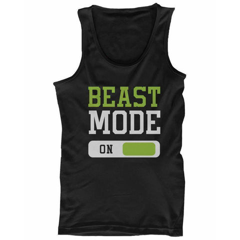 Image of Beast Mode Men's Workout Tanktop Work Out Tank Top Fitness Clothe Gym Shirt - Fitness Gear