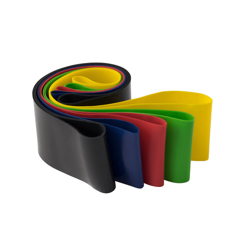 Mini Loop Bands, 5 pack, 1 Each - Fitness Gear
