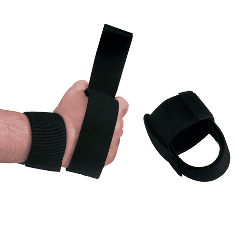 Image of Pair Nylon Power Lifting Straps - Fitness Gear