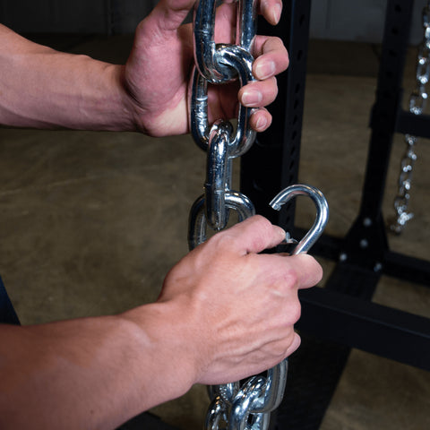 Pair of Lifting Chains, 22lbs each - Fitness Gear
