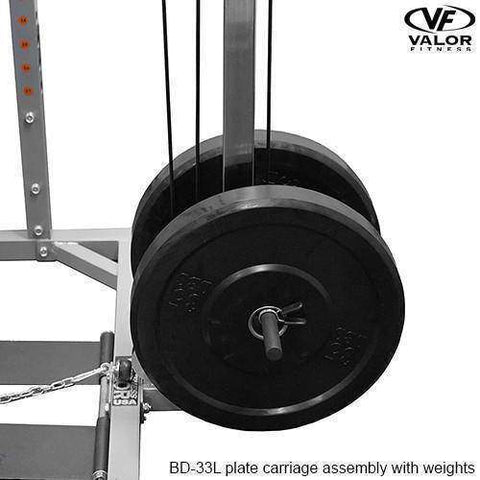 Image of Valor Fitness Lat Pull for BD-33 - Fitness Gear