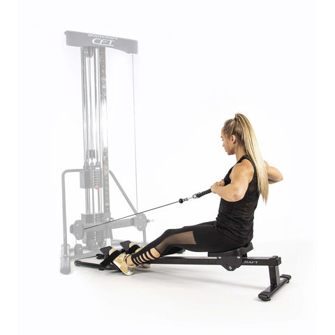 Image of BodyCraft Power Strength Row Option - Fitness Gear