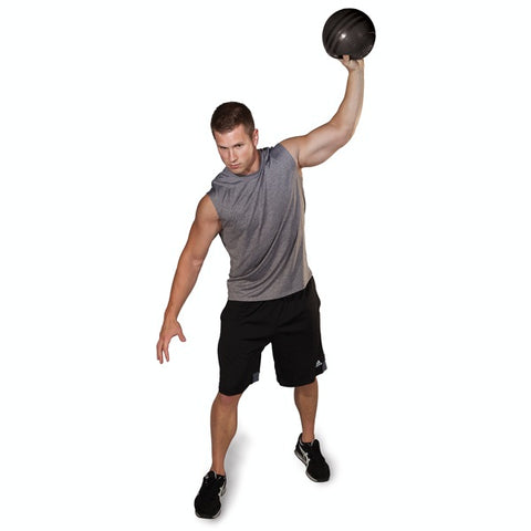 Image of Slam Ball, Black, 20lb - Fitness Gear