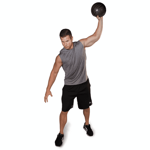 Slam Ball Black, 30lb - Fitness Gear