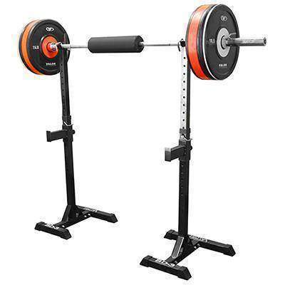 Valor Fitness BD-3 Independent Squat Stands - Fitness Gear