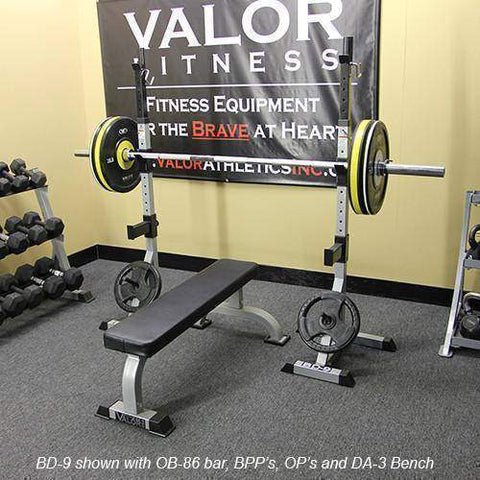Image of Valor Fitness Power Squat Stands - Fitness Gear