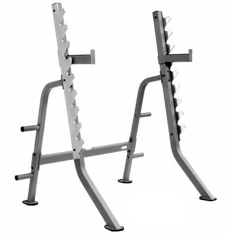 Image of Squat Rack - XMark Multi Press Squat Rack With Olympic Plate Weight Storage XM-7619