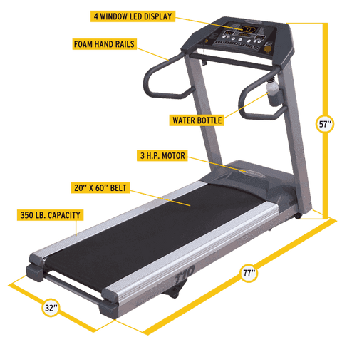 Image of Endurance T10 Commercial Treadmill - Fitness Gear