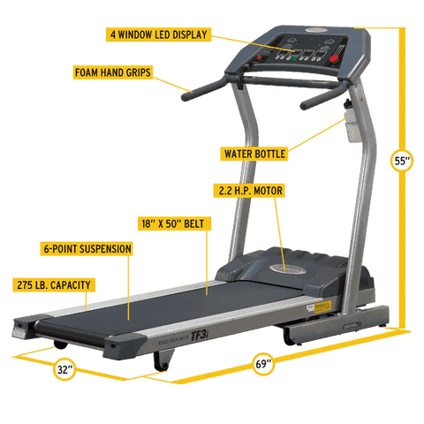 Treadmill - TF3i Folding Treadmill