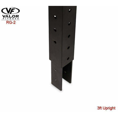 Image of Valor Fitness 3ft upright adapter - Fitness Gear