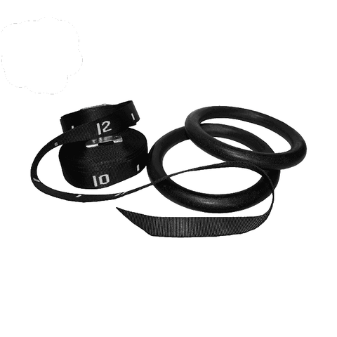 Image of Valor Fitness ABS Gym Rings (2) GRA-2 - Fitness Gear