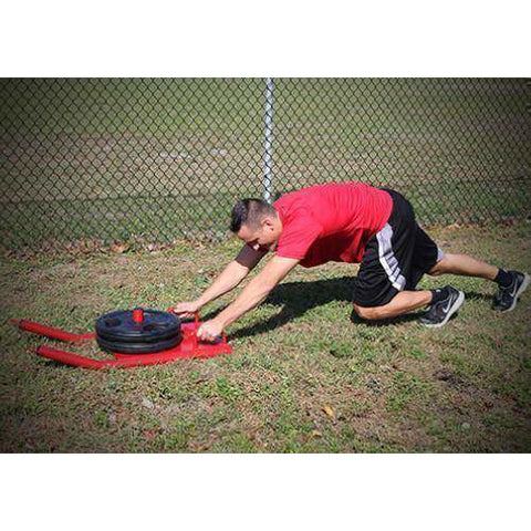 Image of Valor Fitness Agility Sled w Harness & Straps ES-SLED - Fitness Gear