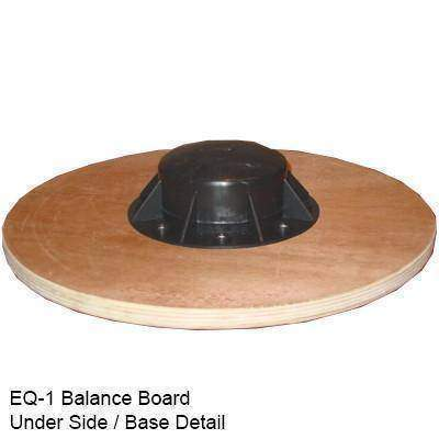 Image of Valor Fitness Wood Balance Board EQ-1 - Fitness Gear