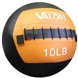 Valor Fitness 10lb Wall Ball WB-10 - Fitness Gear