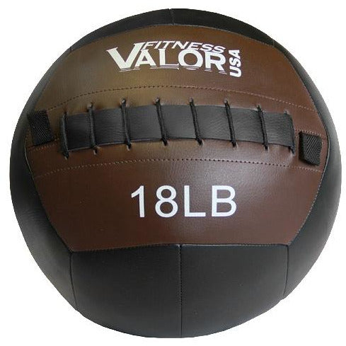 Valor Fitness 18lb Wall Ball WB-18 - Fitness Gear