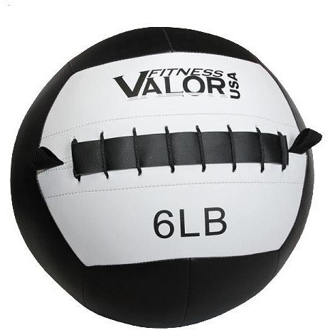 Valor Fitness 6lb Wall Ball WB-6 - Fitness Gear