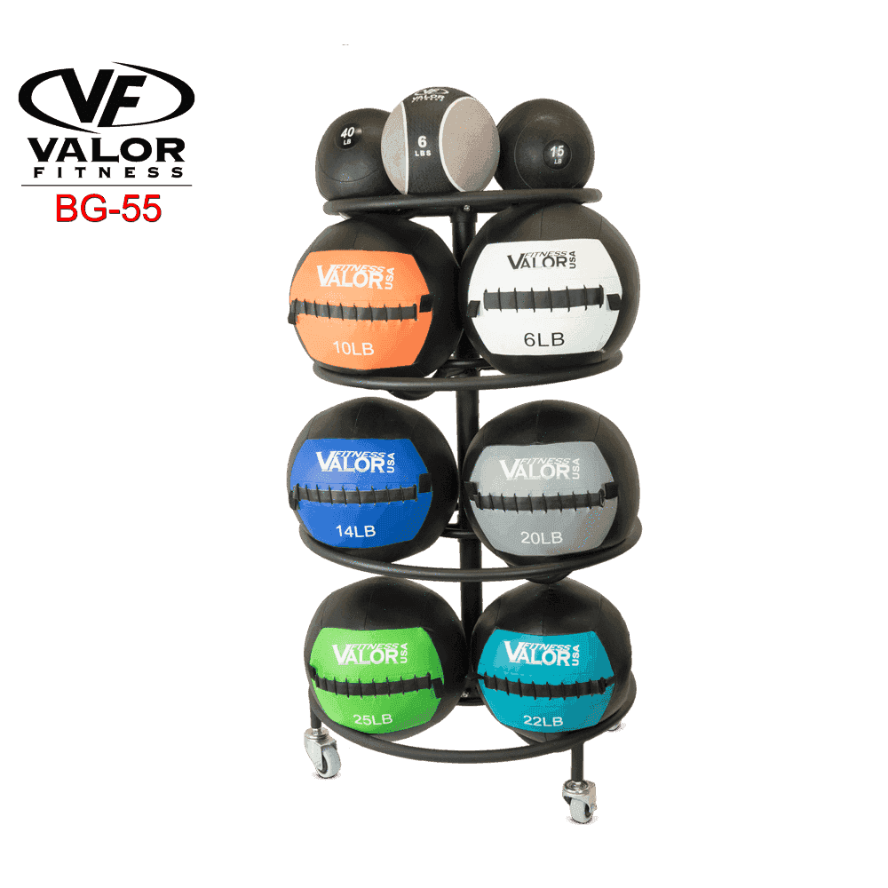 Valor Fitness BG-55 Wall Ball Rack - Fitness Gear