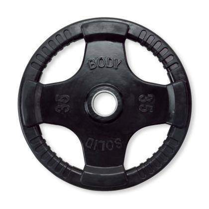 455 lb. Rubber Grip Olympic Set (plates only) - Fitness Gear