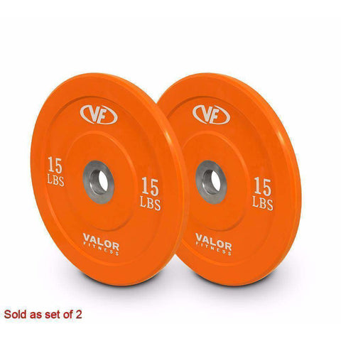 BPX-15 XBumper Plate (Solid Orange) - Fitness Gear