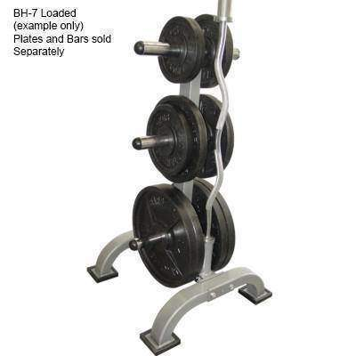 Image of Valor Fitness BH-7 Olympic Plate Tree Stand - Fitness Gear
