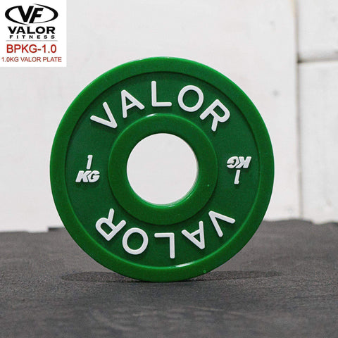 Image of Valor Fitness BPKG-1.0 1KG Change Plates (4) - Fitness Gear