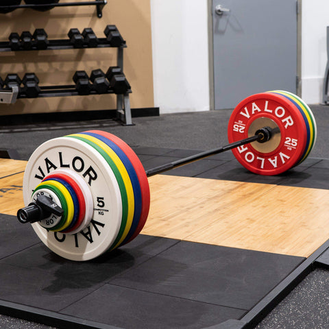 Image of Valor Fitness BPKG-10 10KG Bumper Plates (2) - Fitness Gear