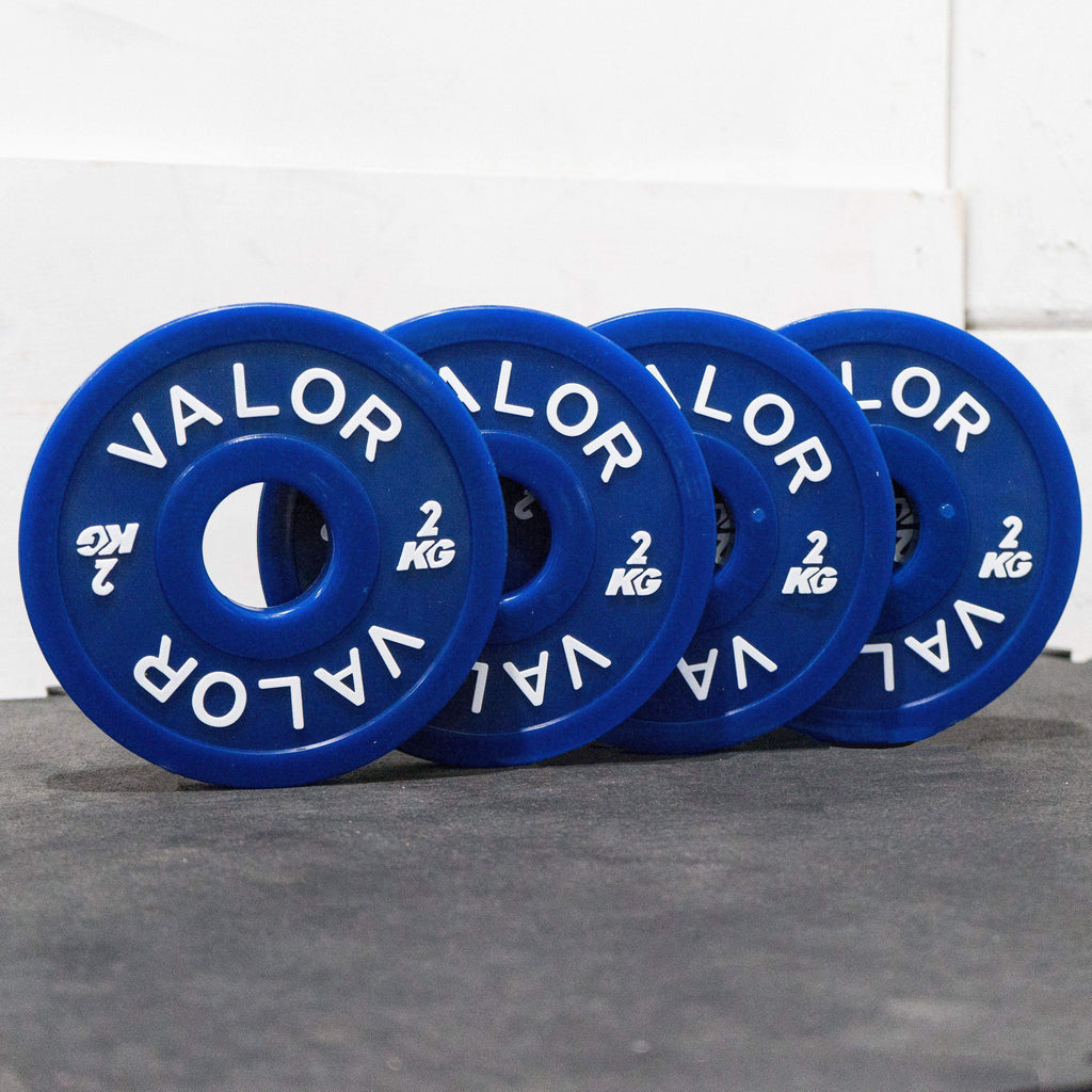 Valor Fitness BPKG-2.0 2KG Change Plates (4) - Fitness Gear