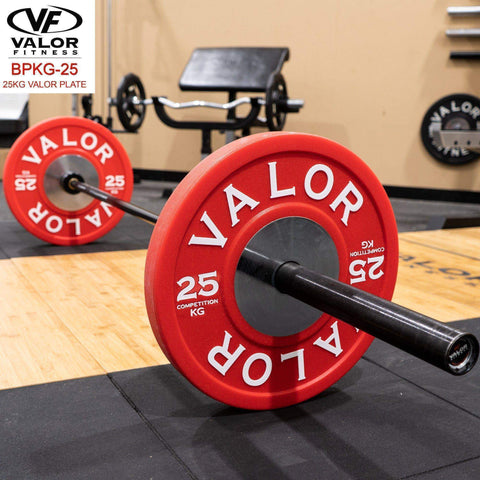 Image of Valor Fitness BPKG-25 25KG Bumper Plate (1) - Fitness Gear