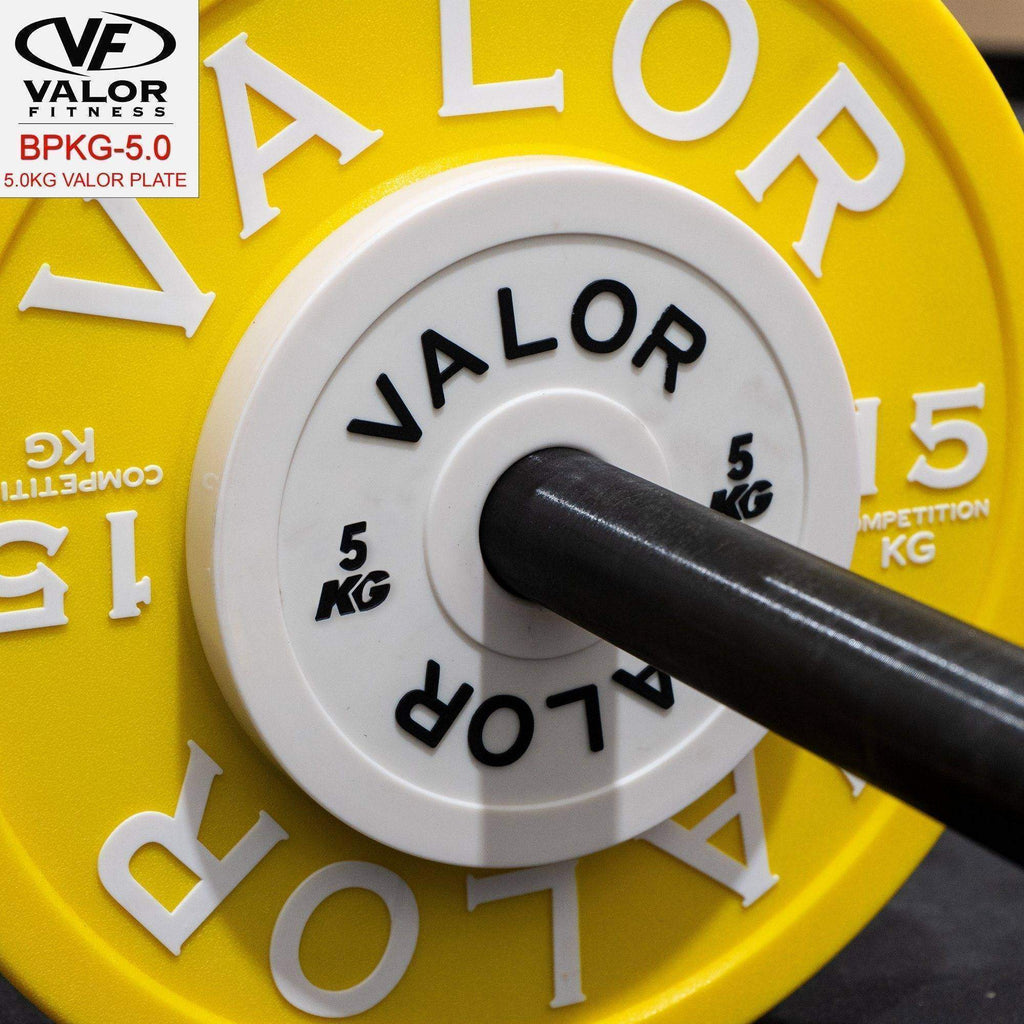 Valor Fitness BPKG-5.0 5.0KG Change Plates (4) - Fitness Gear