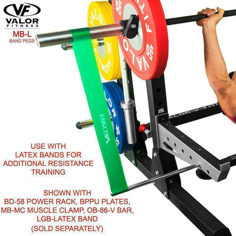 Image of Valor Fitness MB-L Band Pegs - Fitness Gear