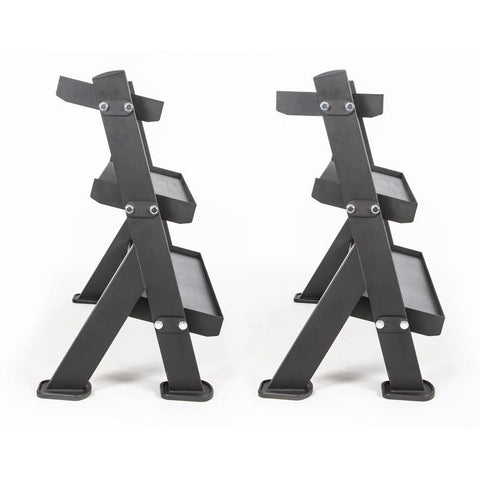 Image of BodyCraft F530 3-Tier Dumbbell / Accessory Rack - Fitness Gear
