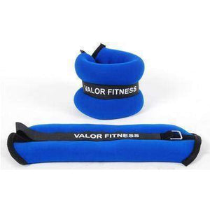 Valor Fitness 2 lb Red Weight (2) EA-10 - Fitness Gear