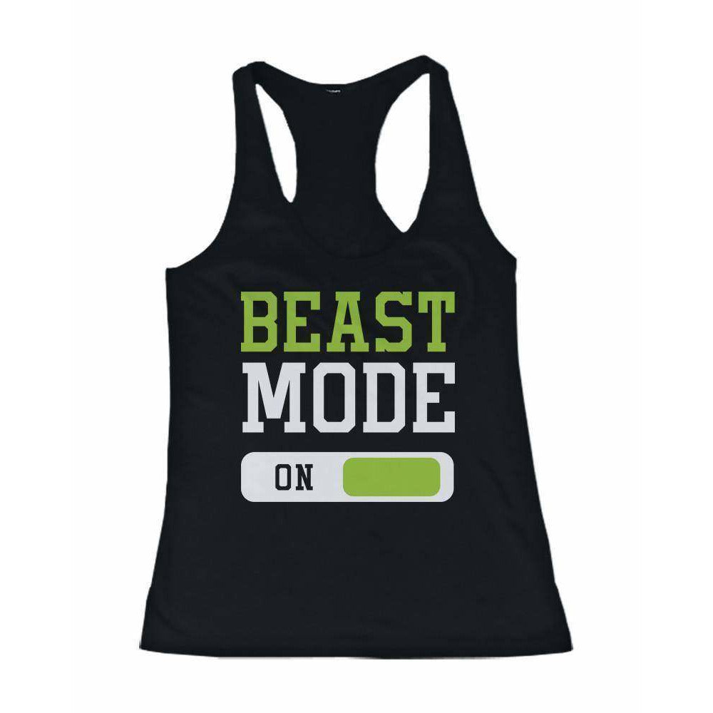 Beast Mode Women's Workout Tanktop Work Out Tank Top Fitness Gym Clothing - Fitness Gear