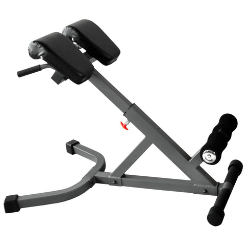 Image of XMark 45 Degree Ab Back Hyperextension Roman Chair XM-4428 - Fitness Gear
