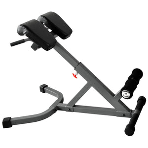XMark 45 Degree Ab Back Hyperextension Roman Chair XM-4428 - Fitness Gear