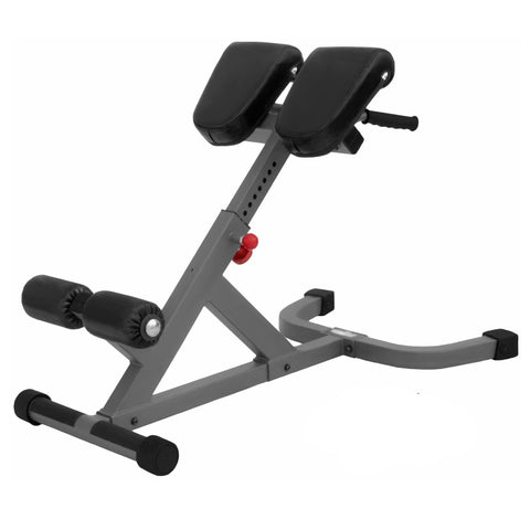 Image of XMark 45 Degree Ab Back Hyperextension Roman Chair XM-7609 - Fitness Gear