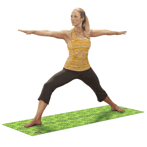 Image of Premium Body-Solid Yoga Mat 6MM GREEN - Fitness Gear