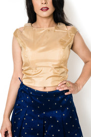 Gold Speck Blouse