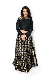 Black Shikar Blouse
