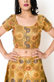 Gold Eon Blouse