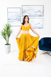 Ausmus Yellow Lengha Suit