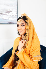 Plumeria Gold/Yellow Sharara Suit